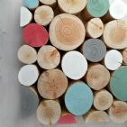 Decorative Logs - HERITAGE Colour Mix